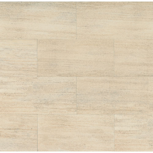 "Materia 3D 12"" x 24"" Floor & Wall Tile in Pearl"