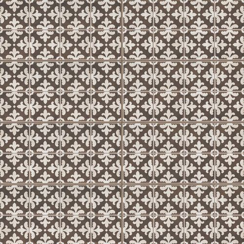 "Palazzo 12"" x 24"" Decorative Tile in Antique Cotto Florentina"