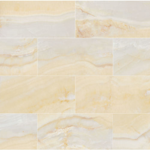 "Plane 15"" x 30"" Floor & Wall Tile in Fantasy Gold"