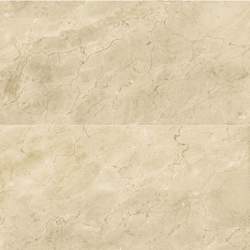 "Plane 30"" x 60"" x 1/4"" Floor and Wall Tile in Marfil Vena"