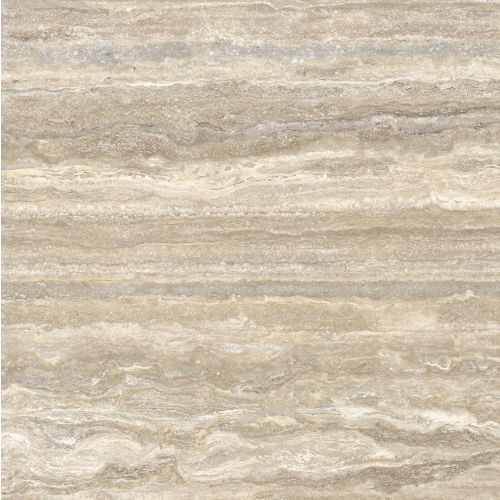 "Plane 60"" x 60"" x 1/4"" Floor and Wall Tile in Travertino Vena Plane"