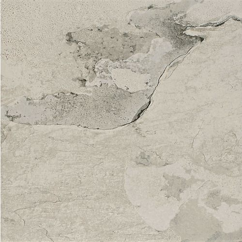 "Raja Slate 12"" x 12"" Floor & Wall Tile in Himachel White"