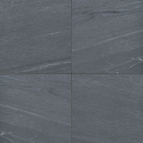 "Urban 2.0 24"" x 24"" Floor & Wall Tile in Raven Black"