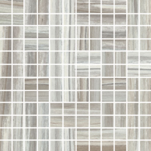 "Zebrino 1"" x 1"" Floor & Wall Mosaic in Bluette"