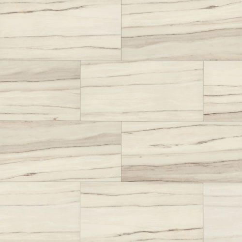 "Zebrino 12"" x 48"" Floor & Wall Tile in Calacatta"