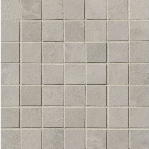 "Cemento 1-1/2"" x 1-1/2"" Floor & Wall Mosaic in Silver Sage"