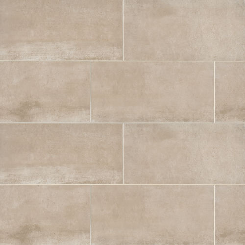 "Clive 12"" x 24"" Floor & Wall Tile in Beige"
