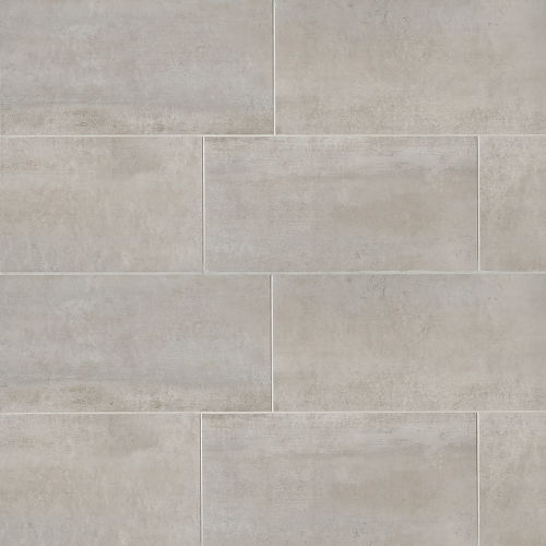 "Clive 12"" x 24"" Floor & Wall Tile in Silver"