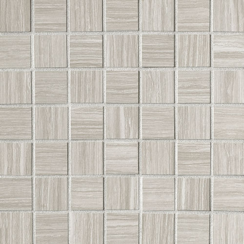 "Islands 1-1/2"" x 1-1/2"" Floor and Wall Mosaic in Silver"