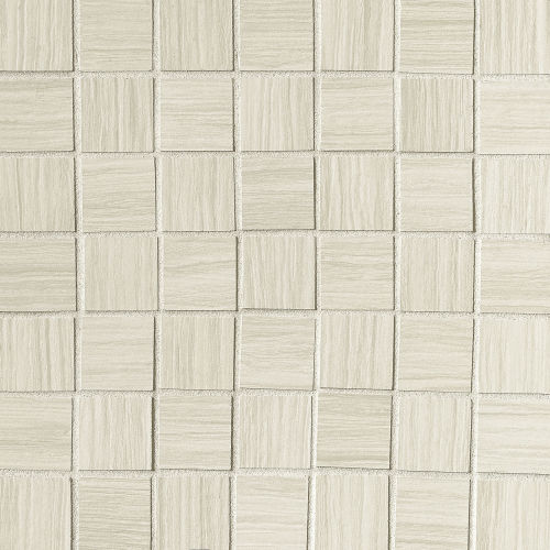 "Islands 1-1/2"" x 1-1/2"" Floor and Wall Mosaic in White"