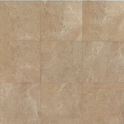 "Marfil 20"" x 20"" x 3/8"" Floor and Wall Tile in Noce"