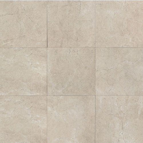 "Marfil 20"" x 20"" x 5/16"" Floor and Wall Tile in Silver"