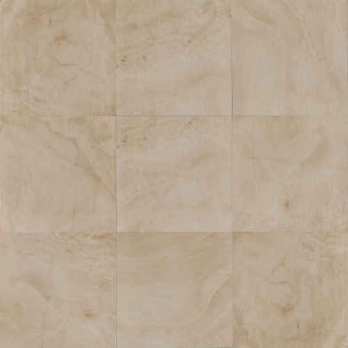"Onyx 20"" x 20"" x 5/16"" Floor and Wall Tile in Almond"