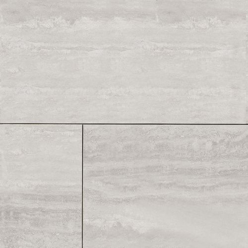 "Phoenix 24"" x 48"" Floor & Wall Tile in Silver"