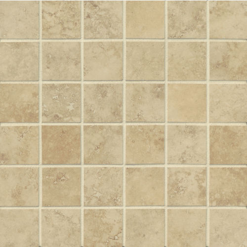 "Roma 2"" x 2"" Floor & Wall Mosaic in Beige"