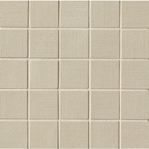 "Strands 2"" x 2"" Floor & Wall Mosaic in Taupe"
