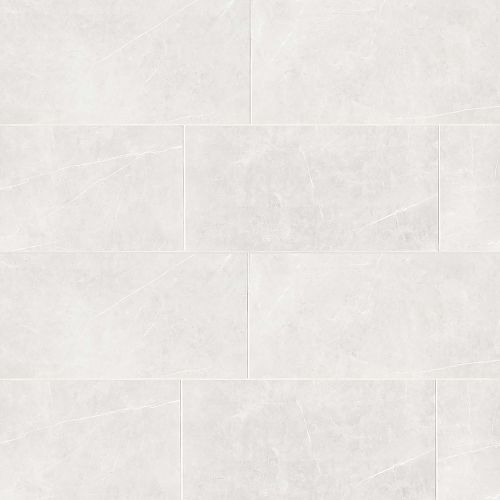 "Troy 12"" x 24"" Floor & Wall Tile in White"
