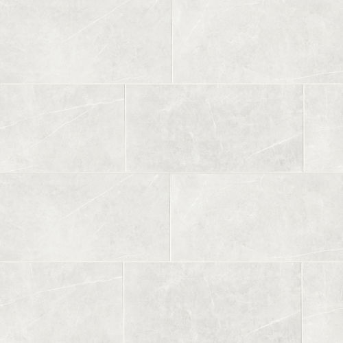 "Troy 24"" x 48"" Floor & Wall Tile in White"