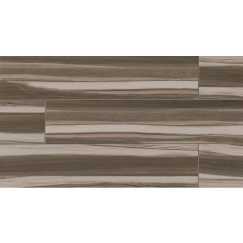 "Arrowhead 8"" x 36"" x 3/8"" Floor and Wall Tile in Nero"