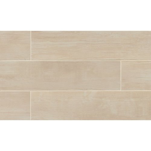 "Bayou Country 8"" x 36"" Floor & Wall Tile in Blanc"