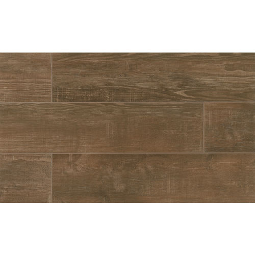 "Bayou Country 8"" x 36"" Floor & Wall Tile in Walnut"