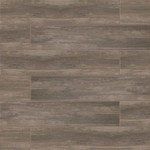 "Distressed 8"" x 24"" Floor & Wall Tile in Noce"