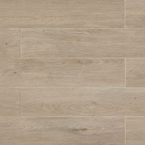 "European 8"" x 48"" Floor & Wall Tile in London Light Oak"