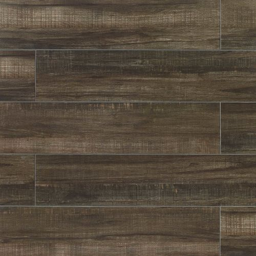 "Forest 8"" x 24"" Floor & Wall Tile in Black"