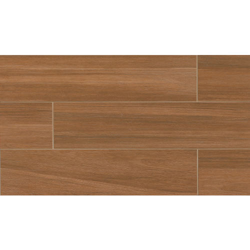 "Kensington 8"" x 24"" x 3/8"" Floor and Wall Tile in Cherry"