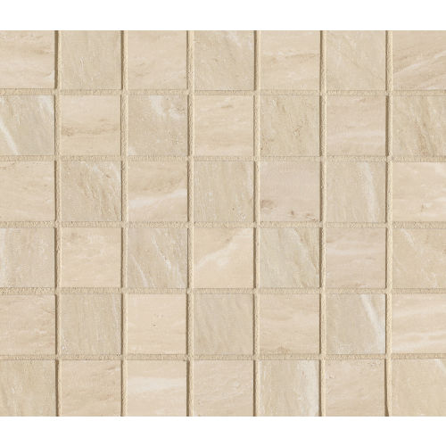 "Yosemite 1-1/2"" x 1-1/2"" Floor and Wall Mosaic in Beige"