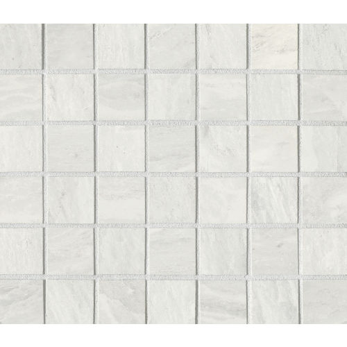 "Yosemite 1-1/2"" x 1-1/2"" Floor and Wall Mosaic in Silver"