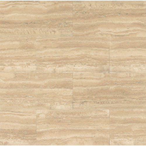 "Aymaran Cream 18"" x 36"" Wall Tile"