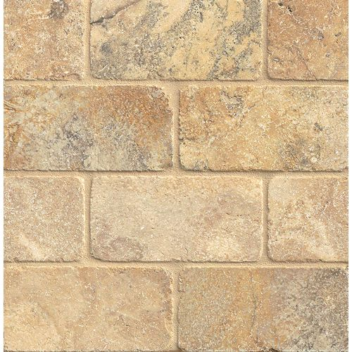 "Crema Viejo 3"" x 6"" Floor & Wall Tile"