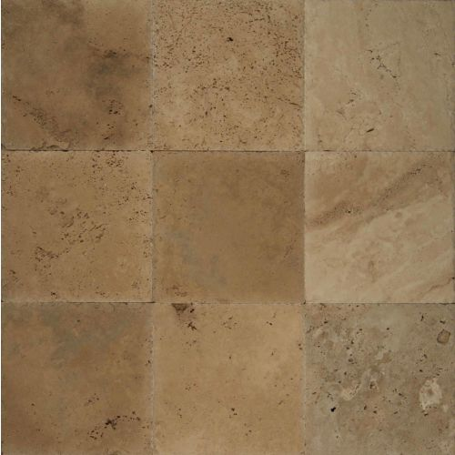 "Ivory Antique 12"" x 12"" Floor & Wall Tile"