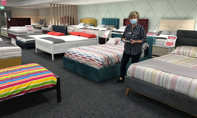 Bedtime Beds with Craigavon Staff Member
