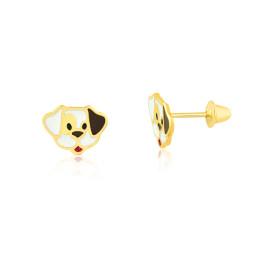 09ae9950cca7c Brinco cão pirata em ouro amarelo 18K ...