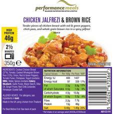Chicken Jalfrezi & Brown Rice
