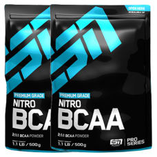 Nitro BCAA Powder 2er Pack