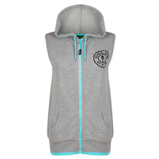 Ladies Muscle Joe Sleeveless Hoodie