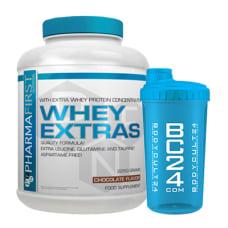 Whey Extras + BC24 Shaker