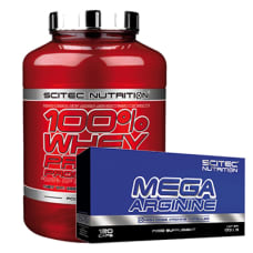 100% Whey Protein Prof. + GRATIS Mega Arginine