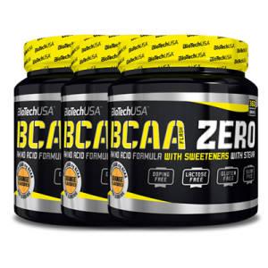 BCAA Flash Zero 3er Pack