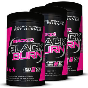 Black Burn 3er Pack