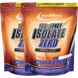 100% Whey Isolate ZERO 2er Pack