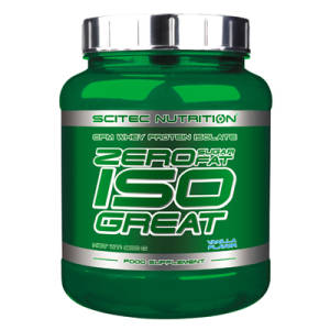 Zero Sugar Zero Fat Isogreat