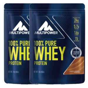 100% PURE Whey Protein 2er Pack