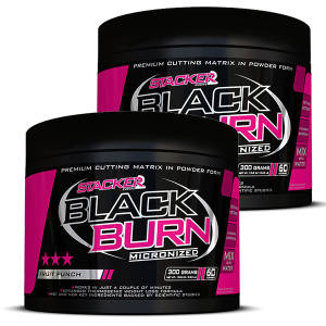 Black Burn Micronized 2er Pack