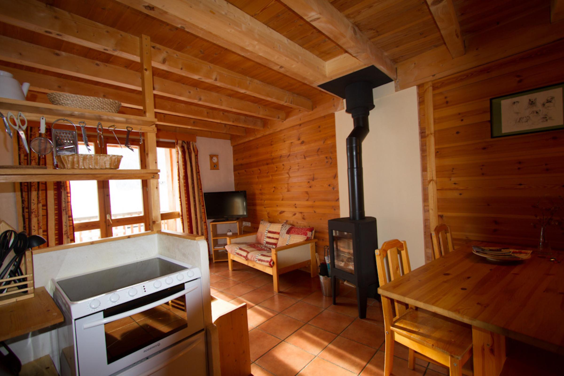 Chalet Le Queyrellin hameau des Chazals Nevache Hautes Alpes