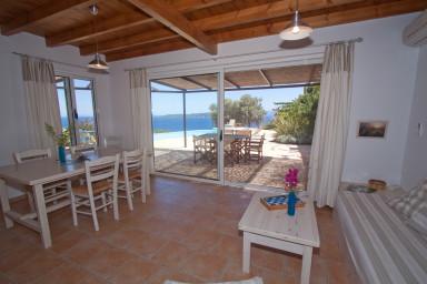 Villa Boubouki – Affiscinante Villa di fronte al mare in una zona riposante