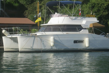 Odyssea  -FOR RENT -Beautiful Motor Catamaran Ionian Islands- with Skipper